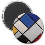 Arte moderno de Piet Mondrian Iman