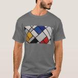 Arte moderno de Piet Mondrian Playera