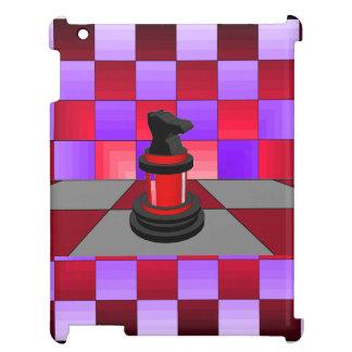 Arte moderno del caballero del ajedrez del caso