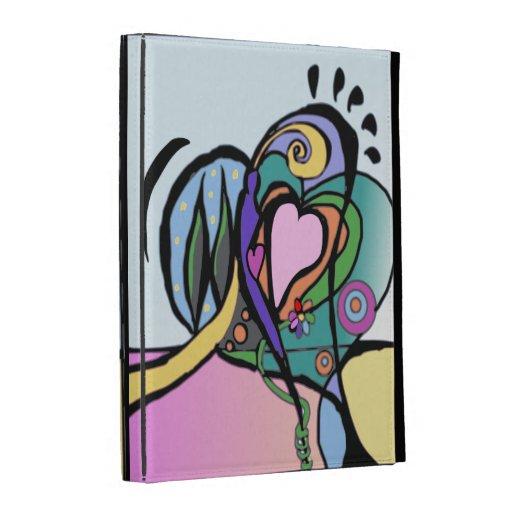 Arte moderno del flujo del corazón