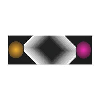 Arte moderno del infinito de la ilusión óptica del