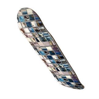 Arte moderno del mosaico del resplandor de las tol tabla de skate