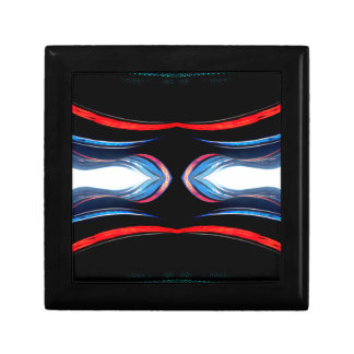 Arte moderno futurista urbano de los armónicos flú cajas de recuerdo