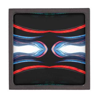 Arte moderno futurista urbano de los armónicos flú cajas de regalo de calidad