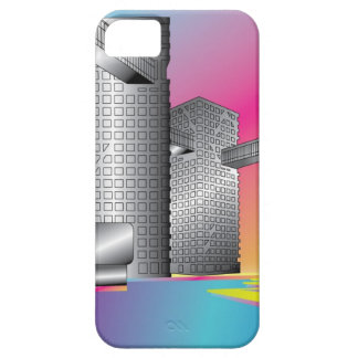 Arte moderno Iphone 5/5s del edificio iPhone 5 Case-Mate Fundas