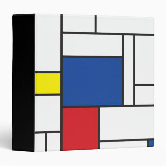 Arte moderno minimalista de Mondrian de Stijl simp