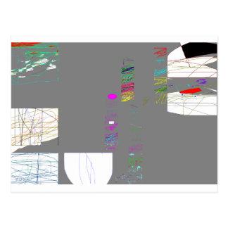 Arte moderno por la postal de Roy