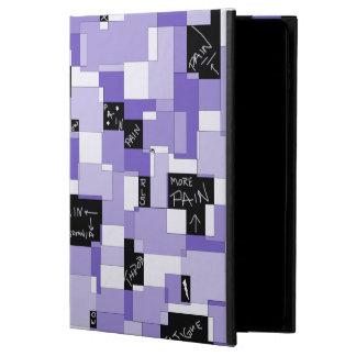 Arte modular del dolor púrpura