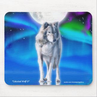 Arte Mousemat de la fantasía del lobo gris, de la  Alfombrilla De Raton