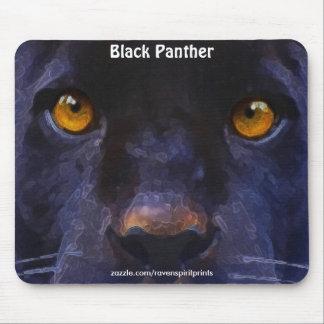 Arte Mousepad de la cara de la pantera negra (Jagu Tapete De Raton