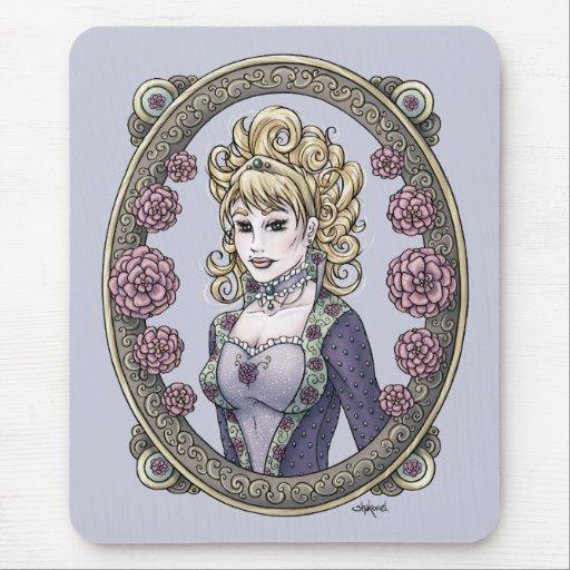 "Arte Mousepad de la fantasía de la ""belleza"" del c Tapetes De Ratones"