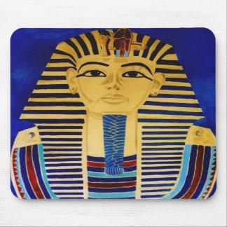 Arte MousePad de rey Tut Tutankhamun Egipto antigu Tapetes De Ratones