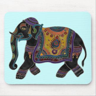 Arte Mousepad del elefante indio Alfombrillas De Ratones