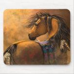 Arte Mousepad del oro de Kiowa Tapete De Ratón
