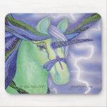 Arte Mousepad del unicornio Alfombrilla De Raton