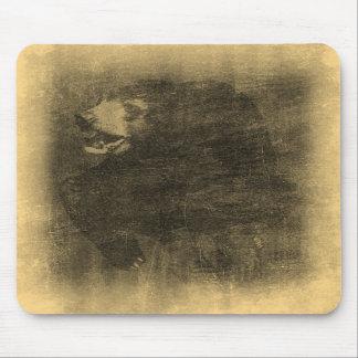 Arte Mousepad del vintage del oso negro Alfombrillas De Raton