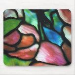 Arte Mousepad del vitral de Tiffany Alfombrillas De Ratones