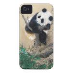 Arte mullido dulce lindo chino fresco del árbol de iPhone 4 fundas