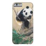 Arte mullido dulce lindo chino fresco del árbol funda de iPhone 6 barely there