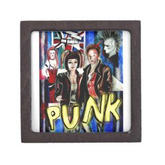 arte, música de punk rock, moda y estilo cajas de joyas de calidad