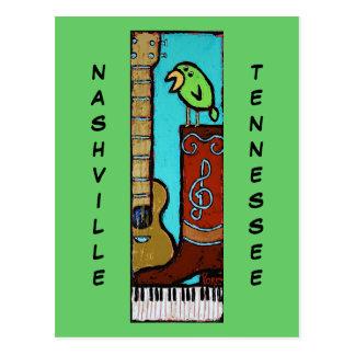 Arte Nashville, postal de Ron York del TN