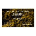 Arte negro del diseño interior del oro plantilla de tarjeta de negocio