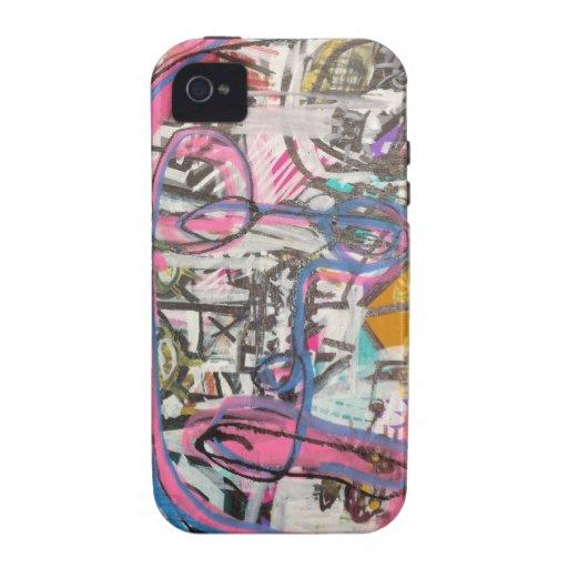 arte no divino por el barro Case-Mate iPhone 4 funda