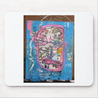 arte no divino por el barro tapetes de raton