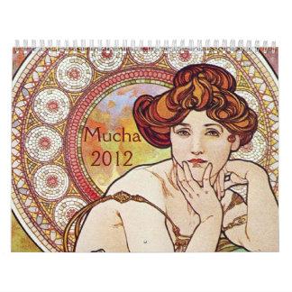 Arte Nouveau 2012 Calendario