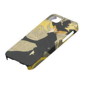Arte Nouveau, café del vintage del club nocturno iPhone 5 Case-Mate Protector