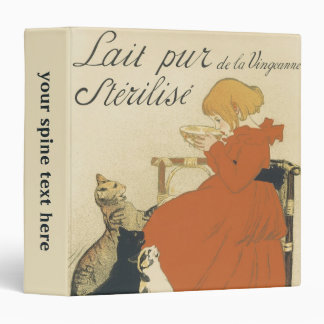 "Arte Nouveau, chica joven del vintage que da a Carpeta 1 1/2"""