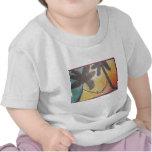 Arte Nouveau con una torsión tropical Camiseta