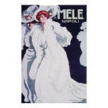 Arte Nouveau de Mele Napoli Posters