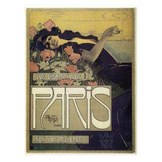 Arte Nouveau de París del ~ del chalet de Aleardo Postales