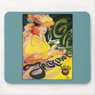 Arte Nouveau del ~ de Jacqmotte del café Tapetes De Ratones
