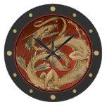 Arte Nouveau del saber del dragón Relojes
