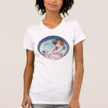 Arte Nouveau del vintage Camiseta