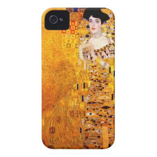 Arte Nouveau del vintage de Gustavo Klimt Adela Case-Mate iPhone 4 Cárcasas