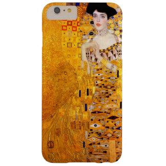 Arte Nouveau del vintage de Gustavo Klimt Adela Funda De iPhone 6 Plus Barely There