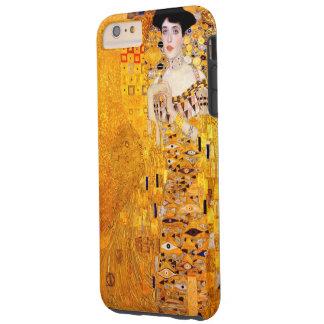 Arte Nouveau del vintage de Gustavo Klimt Adela Funda De iPhone 6 Plus Tough