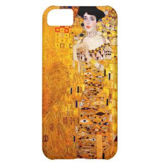 Arte Nouveau del vintage de Gustavo Klimt Adela Funda Para iPhone 5C