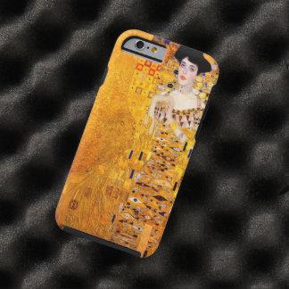 Arte Nouveau del vintage de Gustavo Klimt Adela Funda Para iPhone 6 Tough