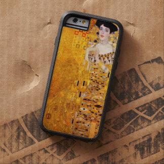 Arte Nouveau del vintage de Gustavo Klimt Adela Funda Para iPhone 6 Tough Xtreme