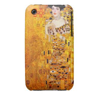 Arte Nouveau del vintage de Gustavo Klimt Adela iPhone 3 Case-Mate Cobertura