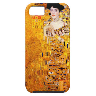Arte Nouveau del vintage de Gustavo Klimt Adela iPhone 5 Carcasas