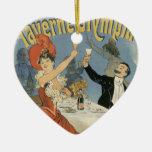 Arte Nouveau del vintage; Taverne Olympia, fiesta  Ornamente De Reyes