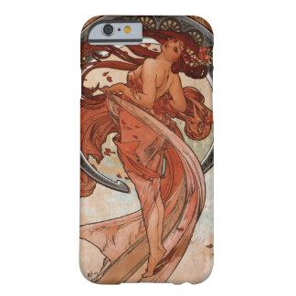 Arte Nouveau el caso del iPhone 6 de la danza Funda De iPhone 6 Barely There