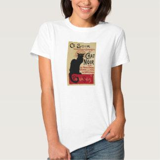 Arte Nouveau, Le Chat Noir del vintage Camisas