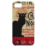 Arte Nouveau, Le Chat Noir del vintage iPhone 5 Case-Mate Cárcasas
