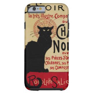 Arte Nouveau, Le Chat Noir del vintage Funda De iPhone 6 Tough